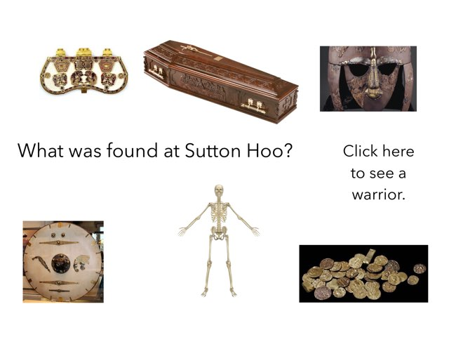 This is a quiz of Sutton Hoo. by RGS Springfield