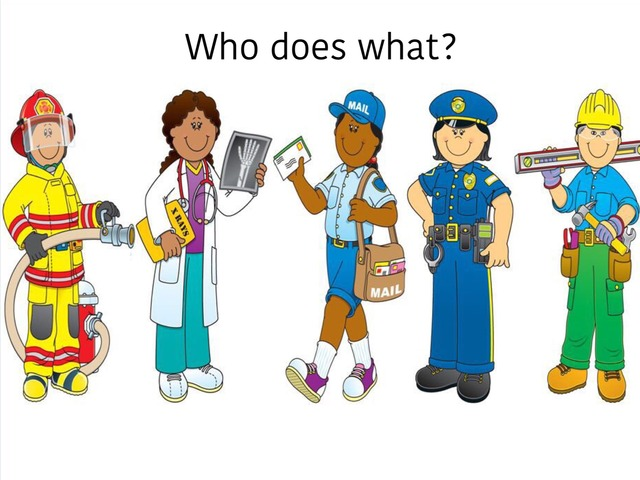 Who Does What? Community Helpers  by Madonna Nilsen