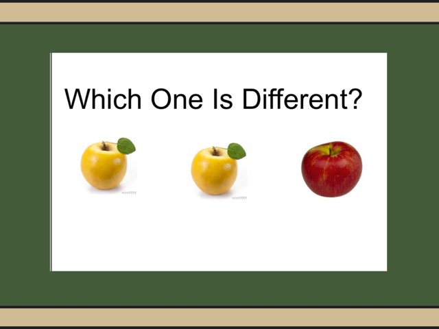 Which One Is Different #2 by Carol Smith