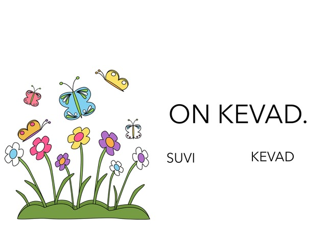 Kevad aias. by Michelle-Natali Omeljantsuk