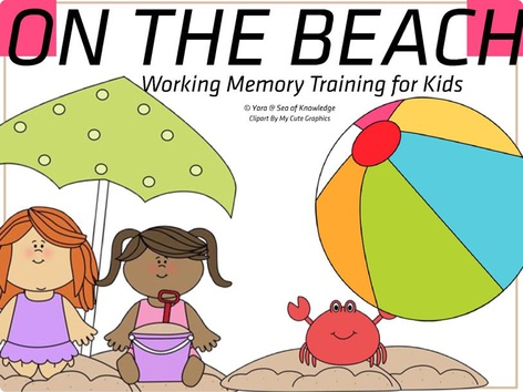 Working Memory Training - On The Beach  by Yara Habanbou
