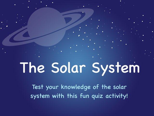 Solar System by Diana Rowland