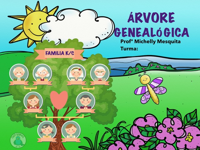 Árvore Genealógica - Jogo Teste by Pueri digital verbo divino