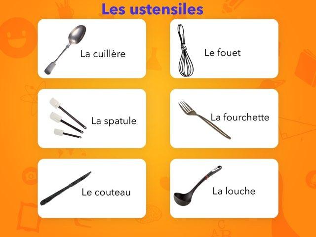 Vocabulaire Des Ustensiles De La Cuisine 1 by Eve-Marie D'Aragon