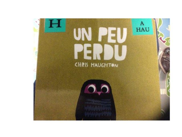 Un Peu Perdu Lecture by Ludivine Werner