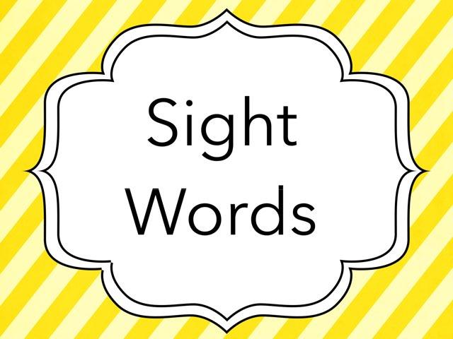 1st Nine Weeks Sight Words by Britne Kiener