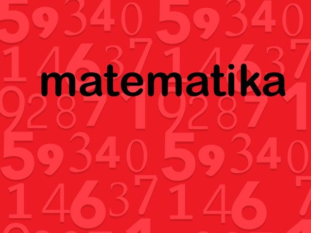 matematika domas by Ilona Zaturskytė