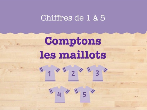 Comptons les maillots de sport by Miss Humblebee