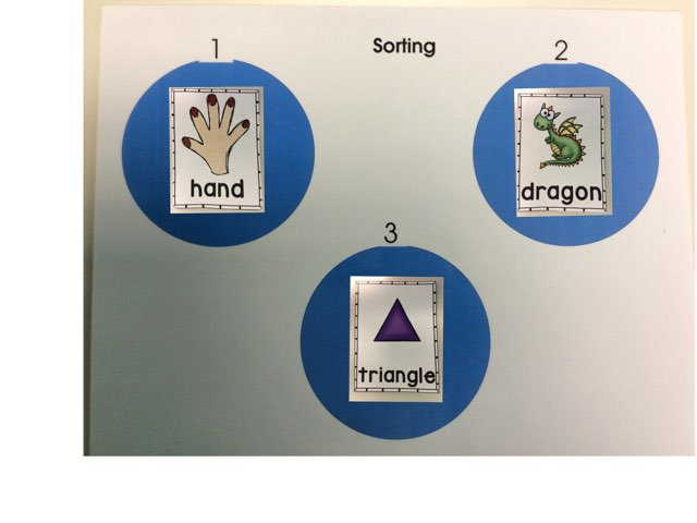 Sorting By Syllables  by Catrina Froehler