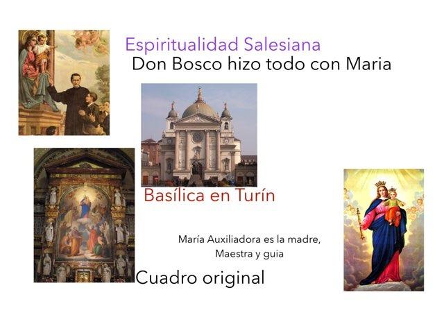 Don Bosco Y La Auxiliadora by Profe MariaCielo