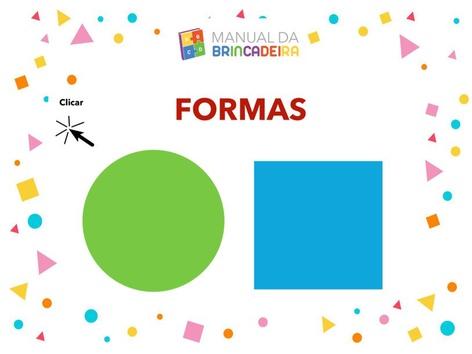 Formas Geométricas  by Manual da Brincadeira
