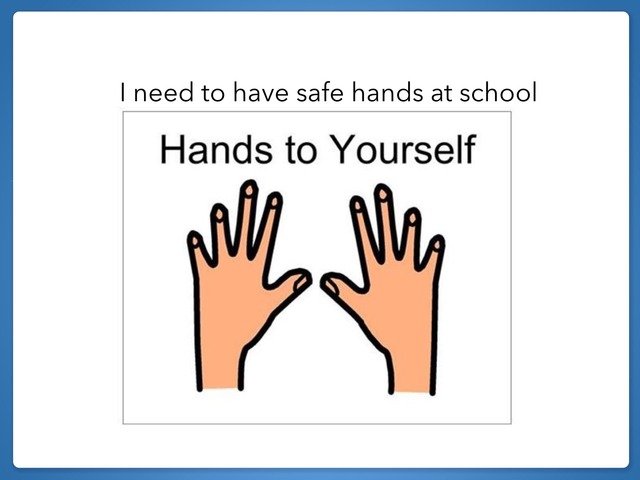 Safe Hands And Personal Space by Melissa Zimmermann