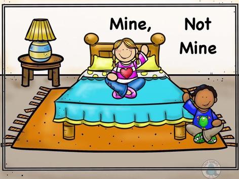 Mine, Not Mine (EN UK) by Ellen Weber