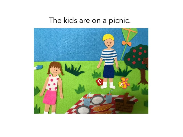 The Picnic by MOLLY THOMPSON