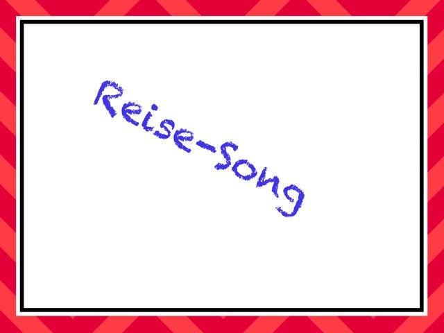 Reise Song  by Nadja Blust