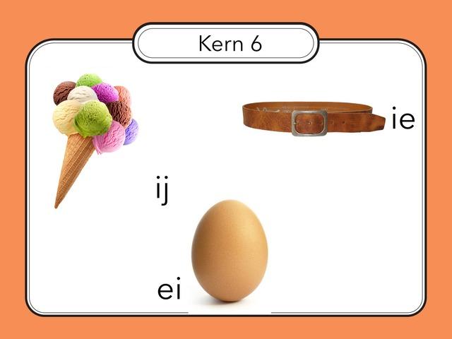 Oefenen met de letters ij, ei en ie. by Renske Imthorn