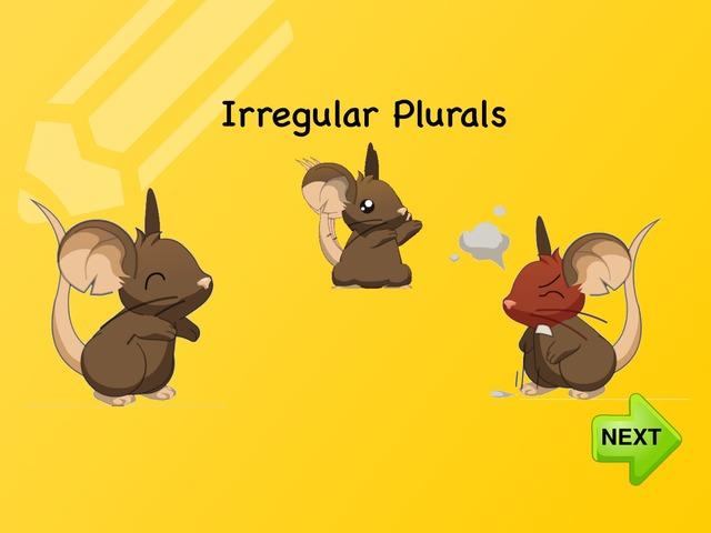 Irregular Plurals by Stephanie Balt