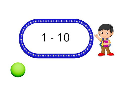 Numbers 1 -10 by Abood Al Ali