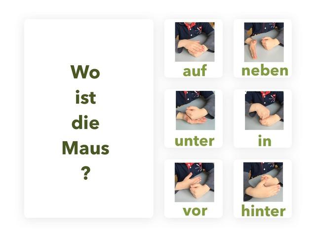 Wo ist die Maus? by Marina Ruß