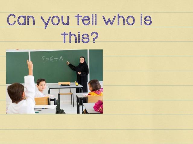 Teacher by Hannai rashid