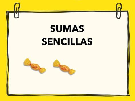Sumas Sencillas Hasta El 9 by Francisca Sánchez Martínez