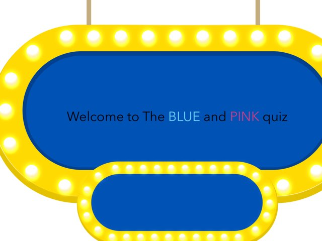 Blue And Pink Quiz by Timberetta Wolf