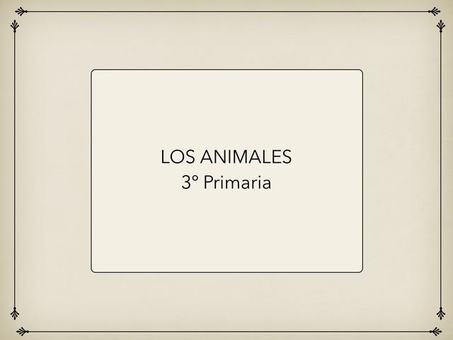 LOS ANIMALES by Javier Lázaro Carrasco