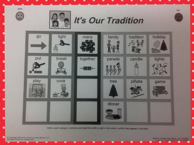 December Unit Intro. Sight Words by Tanya Folmsbee