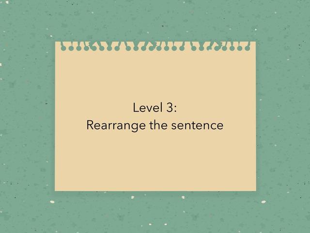 Level 3 by Rashidah Sani