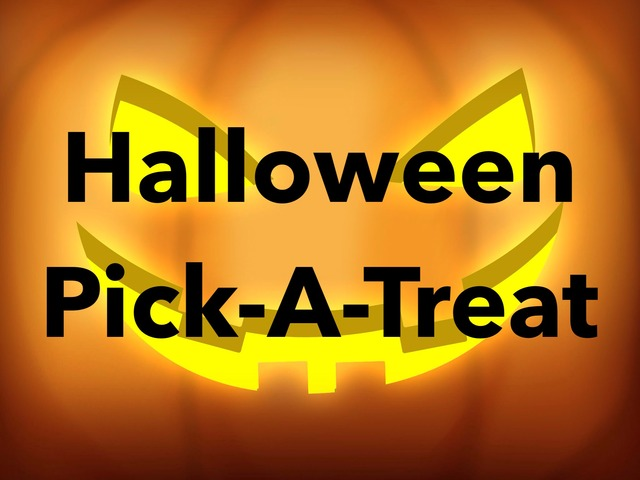 Halloween Pick-A-Treat by Katie Downs