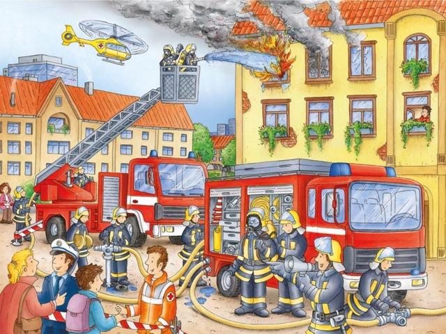 De Brandweer by Florine Ham
