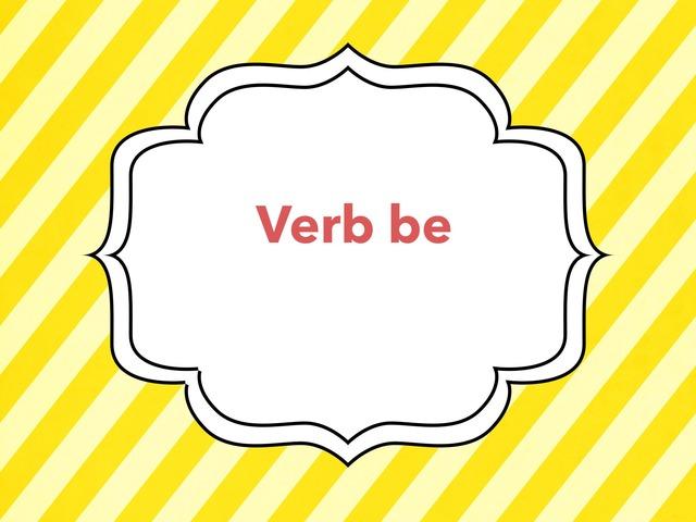 Verb be -grammar by Lama Ali
