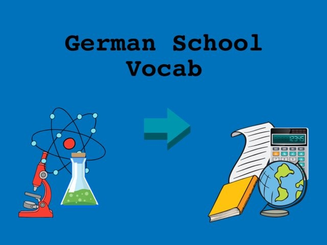 German School Subject Vocab by Josh Dobos