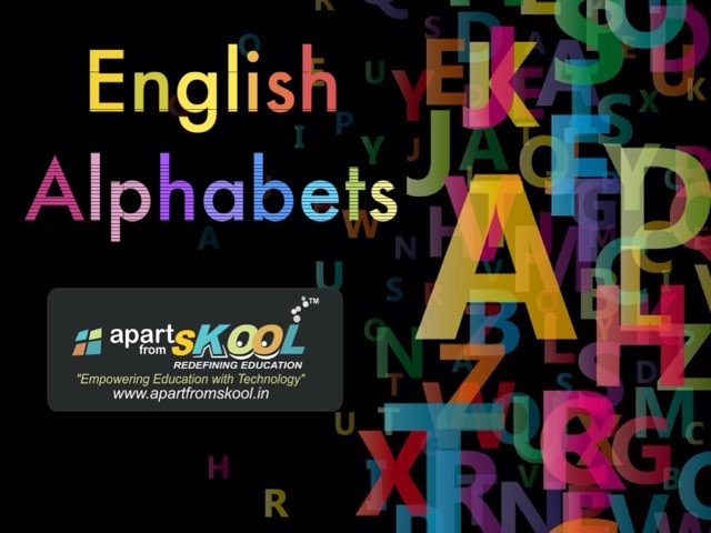 Alphabets- Matching by TinyTap creator