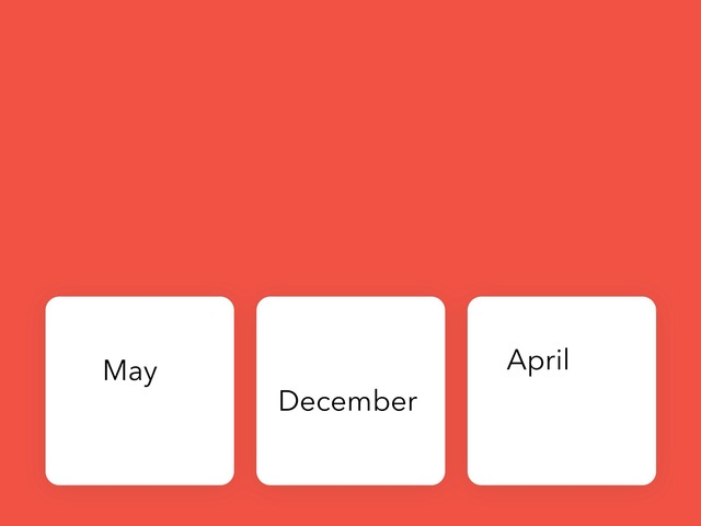 Months by Craig Miller