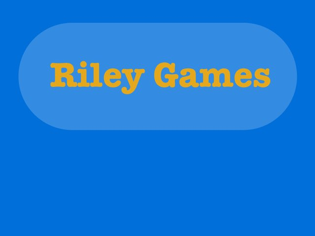 Riley Games Objects by Emma- Martino