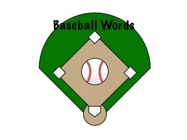 WFPS Baseball Words by Danette Brown