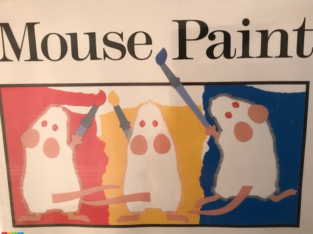 Mouse Paint by Lori Board