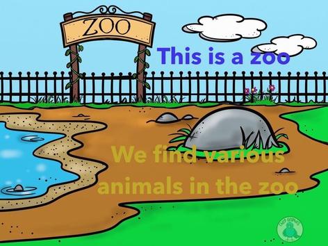 Visit To Zoo by Lavanya Sriram