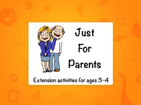 Extension Activities for Ages 3-4 by Ellen Weber