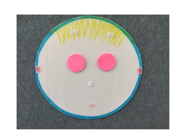 זיכרון חזותי 1 - חלקי פנים כיתה ב׳ by Ganigar School