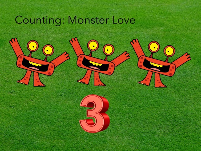 Counting: Monster Love by Carol Smith