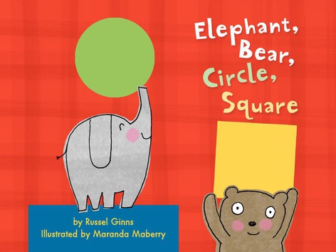 Elephant, Bear, Circle, Square (EN UK) by The Learning Company