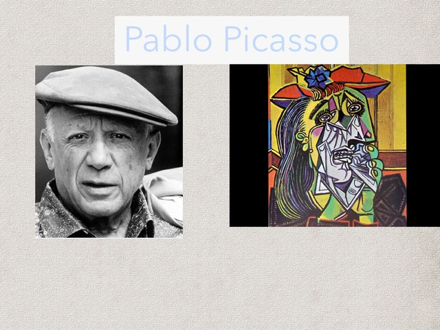 Pablo Picasso  by Abigaël Fortier