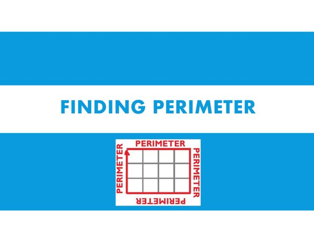 Finding Perimeter by Amber Hyde