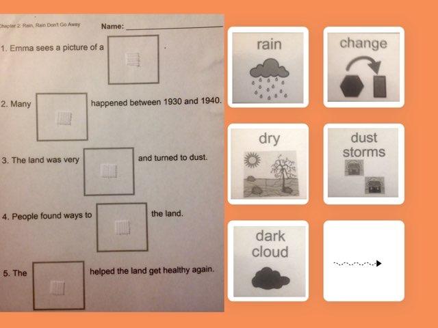 November Lesson 3: Chapter 2 - Rain, Rain, Don't Go Away by Tanya Folmsbee