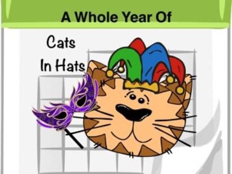 Cats In Hats by Ellen Weber