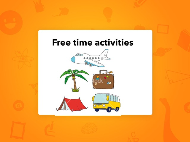 Free Time Activities  by Lama Ali