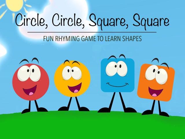 Circle Circle Square Square by Cici Lampe