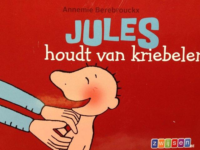 Boekje Jules houdt van kriebelen by Wilma DeVente